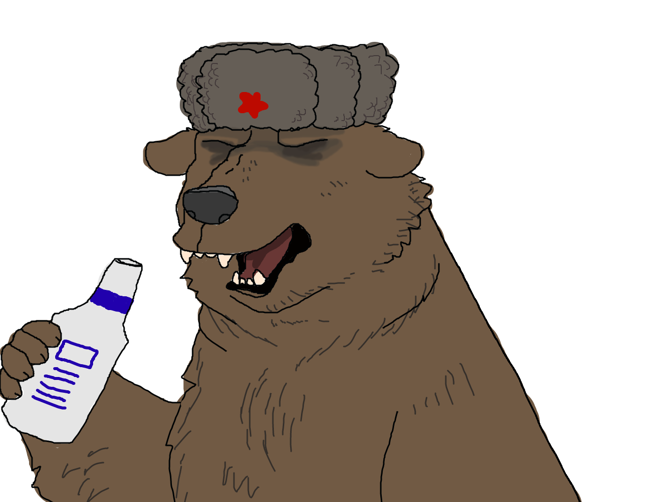 vector free download Ushanka transparent russian imperial. Forum draw a bear