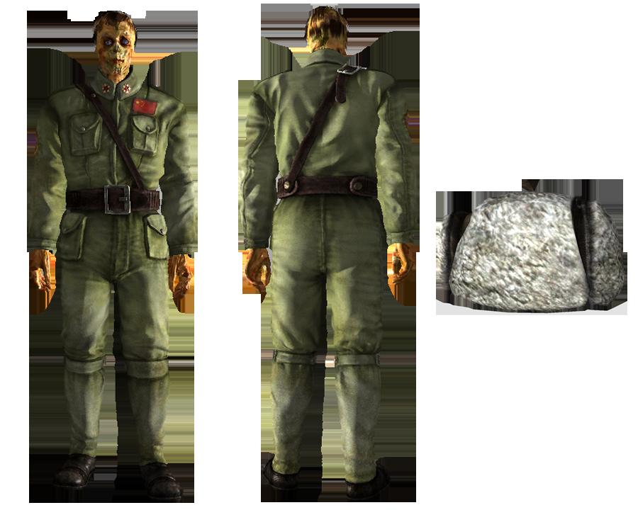 image transparent stock Ushanka transparent uniform. Chinese jumpsuit fallout wiki
