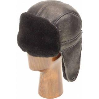 clip art black and white library Aviator hats northern sheepskin. Ushanka transparent ww2