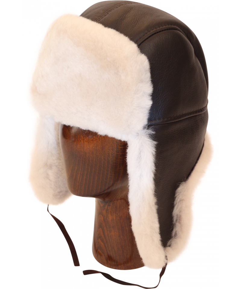 free stock Ushanka transparent ww2. Aviator hats northern classic