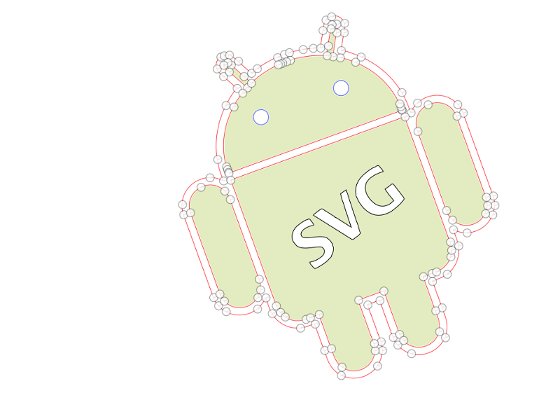 transparent Using svg. Stop your as png