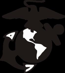 clipart free stock Usmc vector. Marine logo clip art