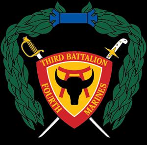 banner library stock  rd battalion th. Usmc vector