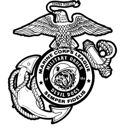 jpg transparent Usmc silhouette at getdrawings. Vector bulldog devil dog