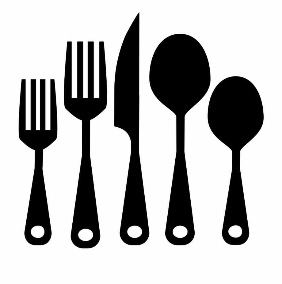 graphic transparent download Cutlery set png kitchen. Utensils clipart