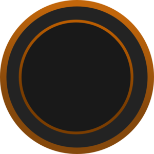 vector transparent download V clip double button. Circle brown art at