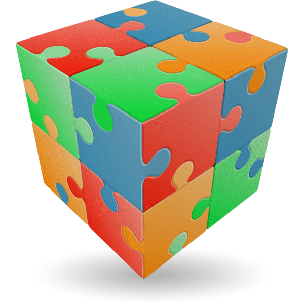 graphic download Cube jigsaw singapore toy. V clip flat