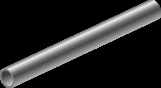 clip royalty free stock V clip metal tube. Post it note steel