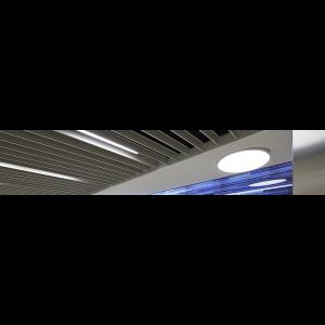 svg royalty free download V clip suspended ceiling. Rockfon intaline base metal