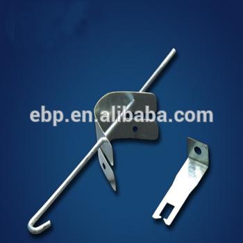 clip black and white stock V clip suspended ceiling. Spring for false metal
