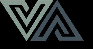 graphic free download Va vector. V a letter logo