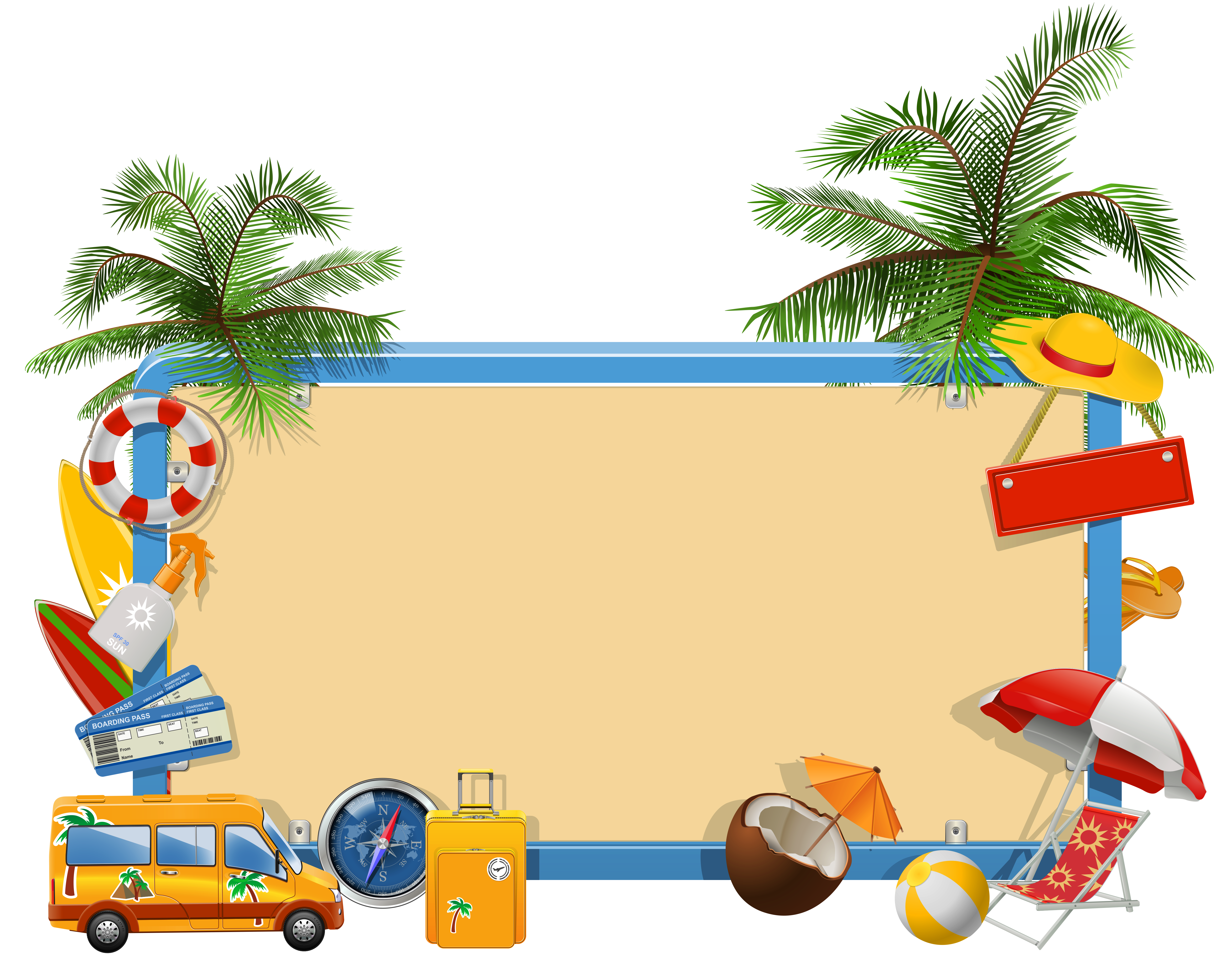 clip free library Going to clipart vacation. Summer png gallery yopriceville
