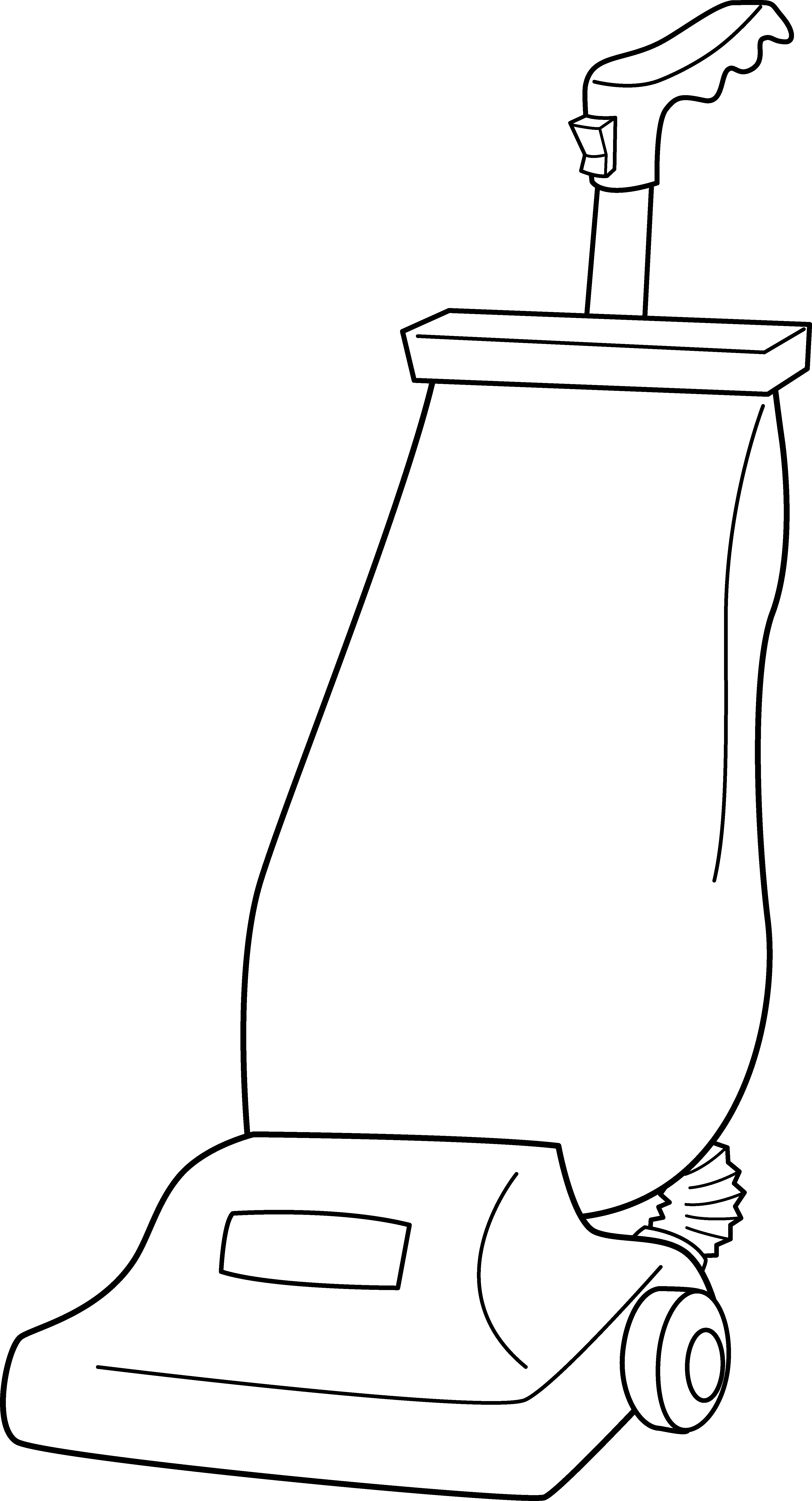 clipart black and white download Cleaner line art free. Vacuum clipart