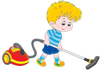 svg black and white download Kid vacuum clipart. Boy with a cleaner