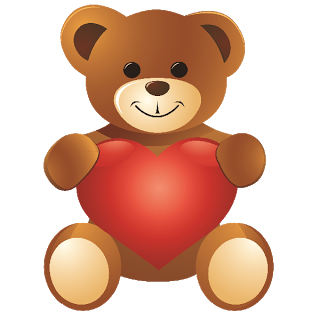 vector transparent library Free cliparts download clip. Valentine bear clipart