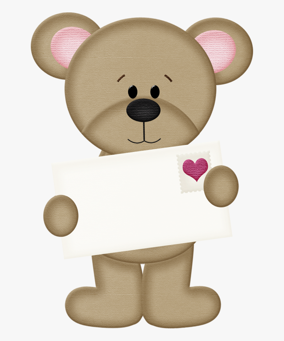 clipart stock  cute digi stamps. Valentine bear clipart