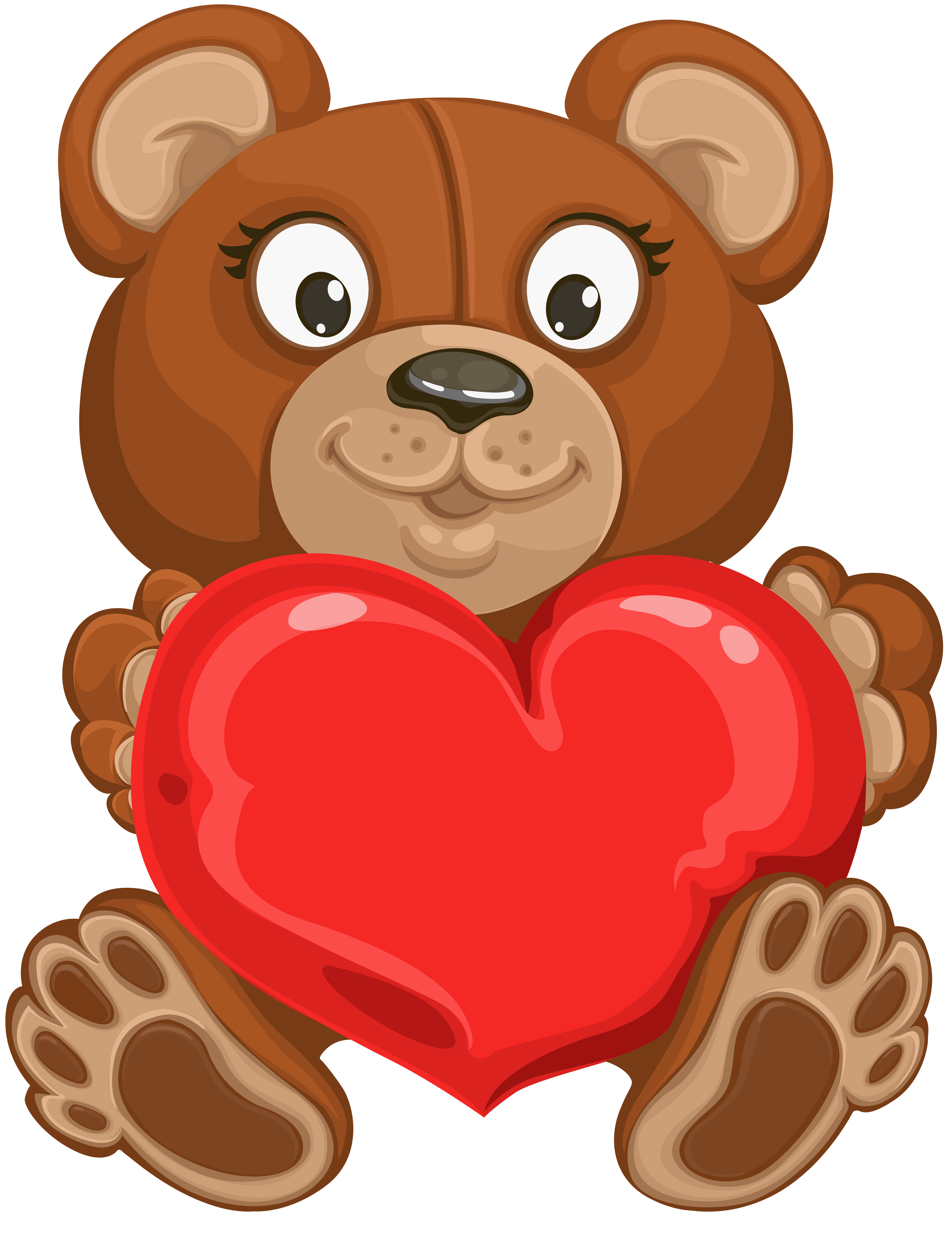 vector Valentine bear clipart. Teddy at getdrawings com