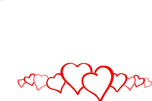 banner freeuse library Clip art panda free. Valentine border clipart