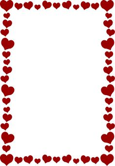 clip royalty free library  clip art clipartlook. Valentine border clipart