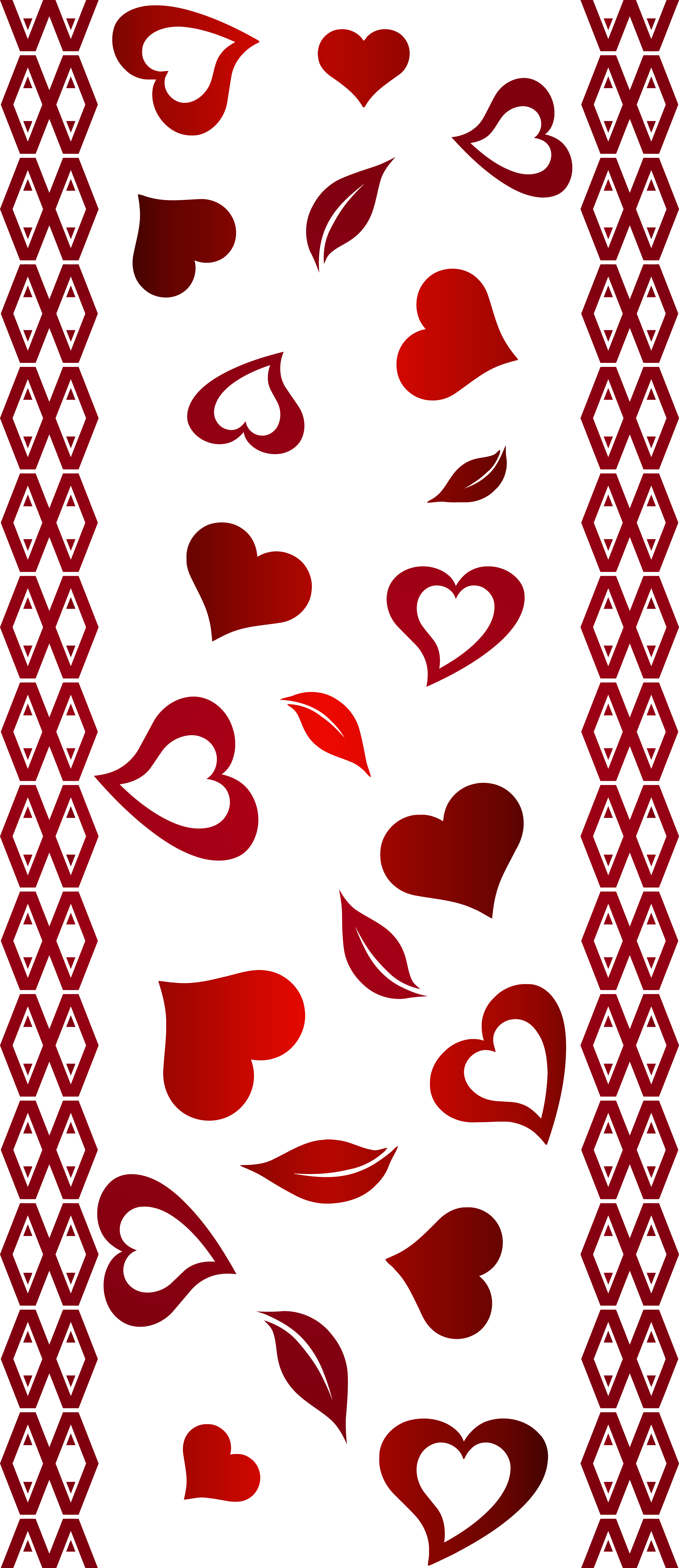 banner freeuse stock Valentine border clipart. S day transparent png