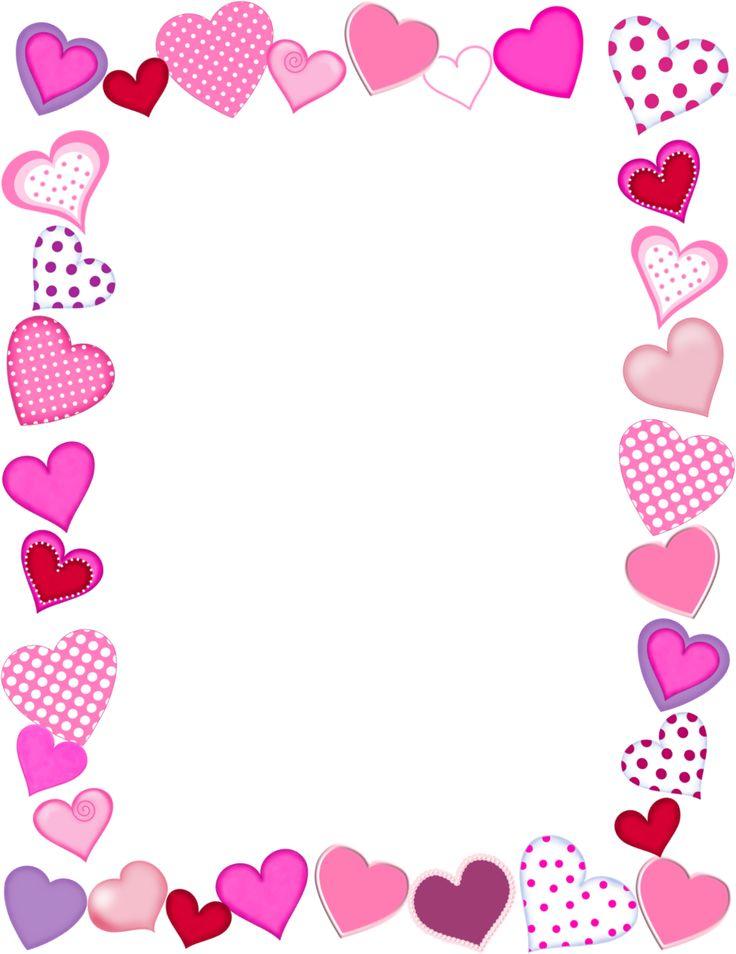 banner transparent stock Valentine border clipart.  clip art clipartlook