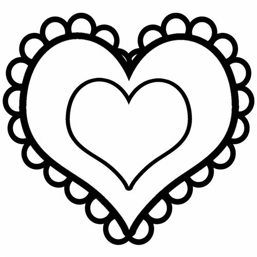 vector royalty free library Valentine clipart black and white. Free valentines download clip