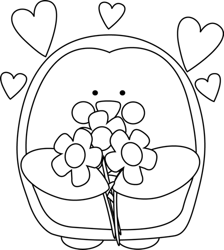 png free library Valentine clipart black and white. S day clip art