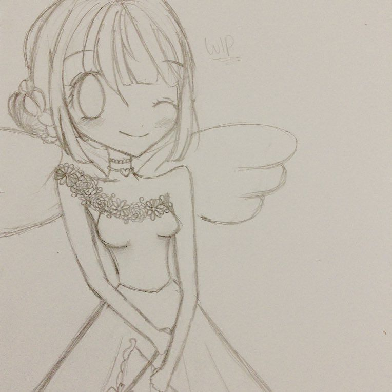 graphic library download Valentine drawing anime. S day sketch lineplay