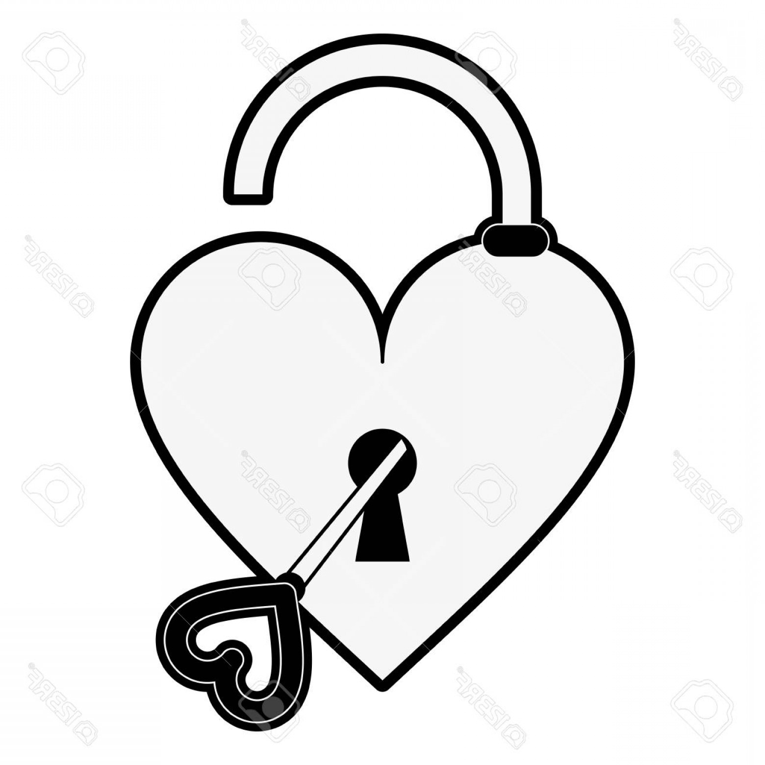 clipart free stock Valentine drawing lock and key. Heart free download best