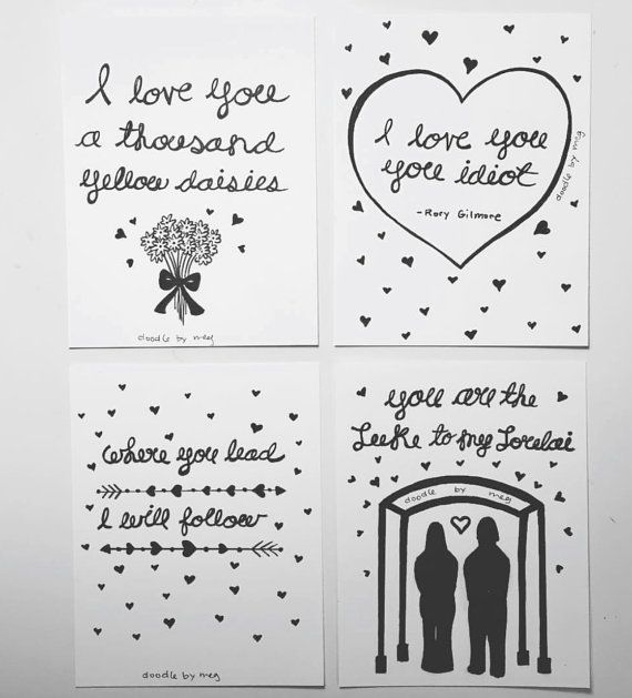 svg freeuse download  pack gilmore girls. Valentine drawing quote