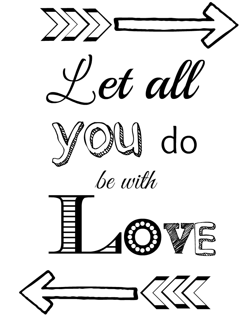 picture royalty free library Valentine drawing quote. Fresh free printables quotes