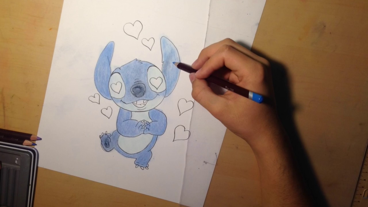 picture stock Valentines day . Valentine drawing stitch