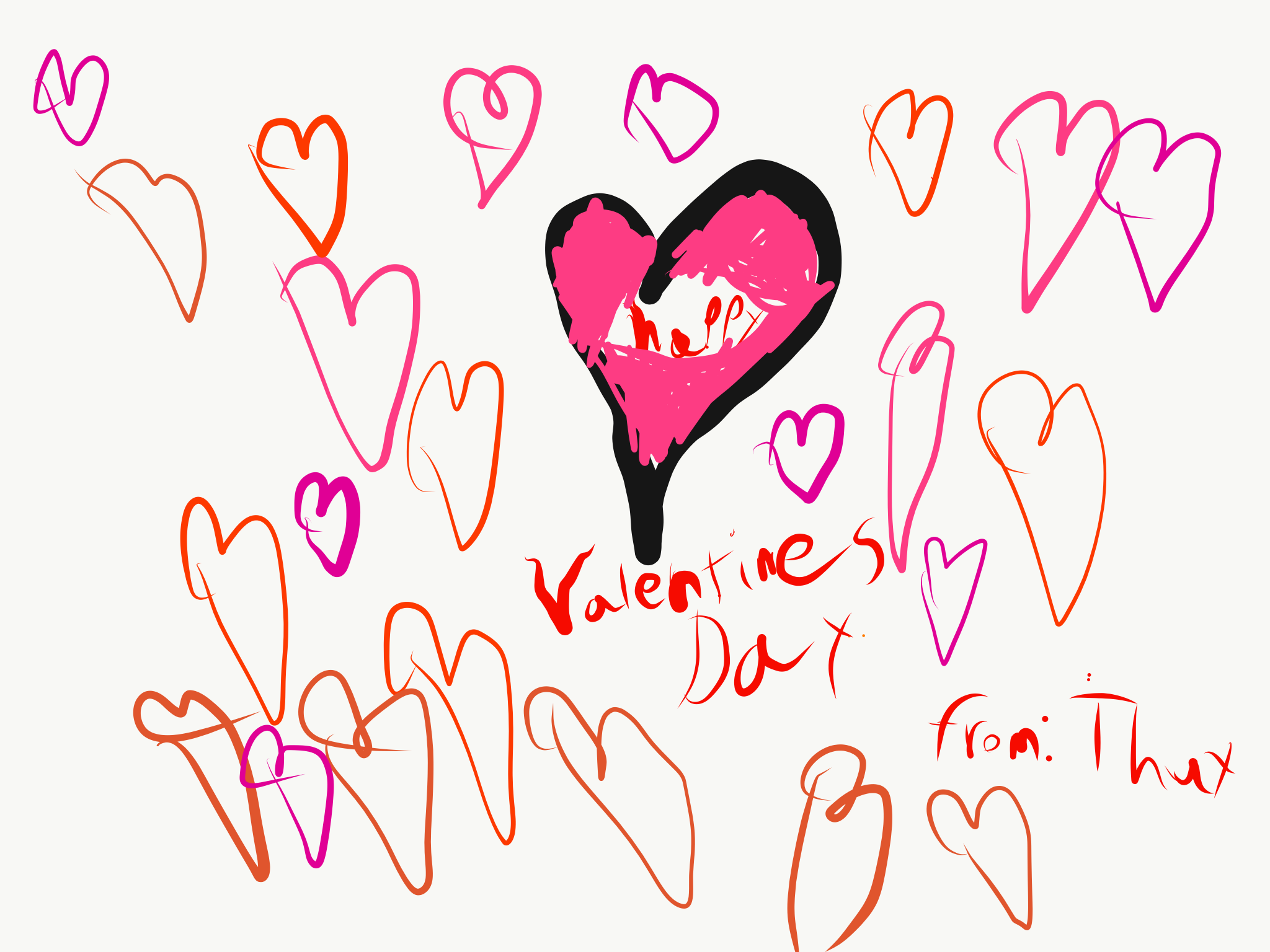 clipart library library How apple pencil and. Valentine drawing valentine's day