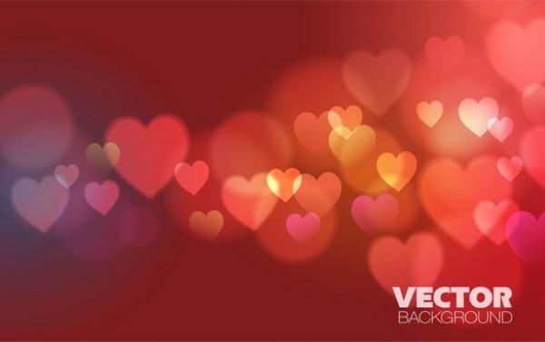 stock  floating hearts valentines. Valentine vector background