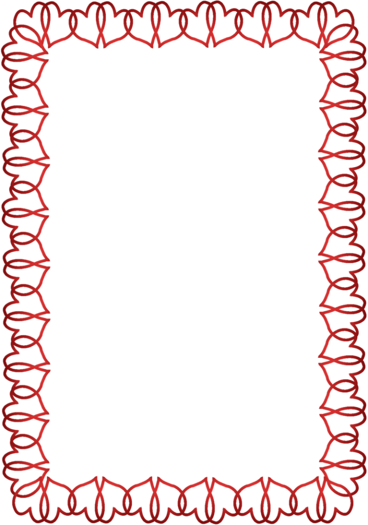 vector freeuse library Valentine vector border. Valentines day png photo