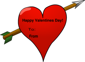 vector library library Valentine vector card. Clip art at clker