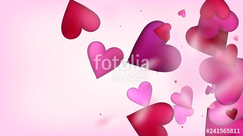 vector royalty free download Valentine vector flying. Hearts confetti valentines day