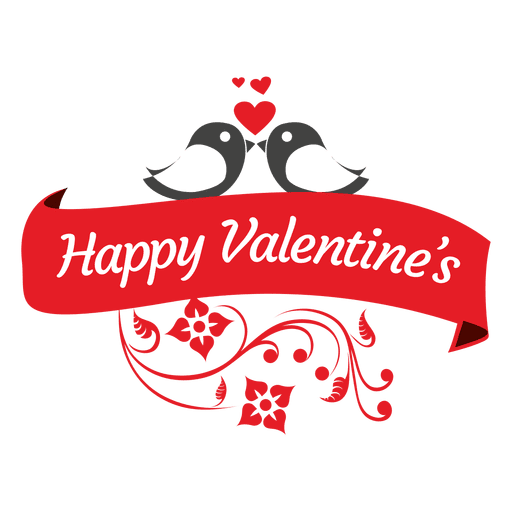 jpg free library Valentines swirls ribbon transparent. Valentine vector happy