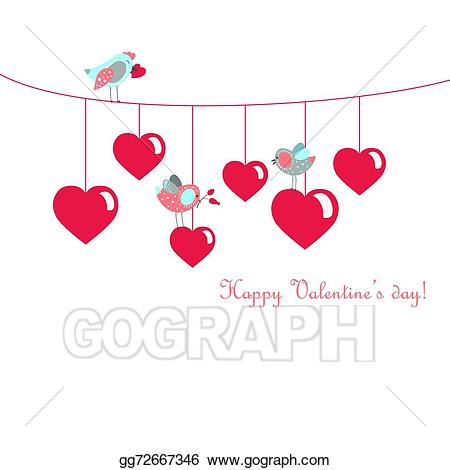 png black and white library Art cute birds celebrating. Valentine vector hump day
