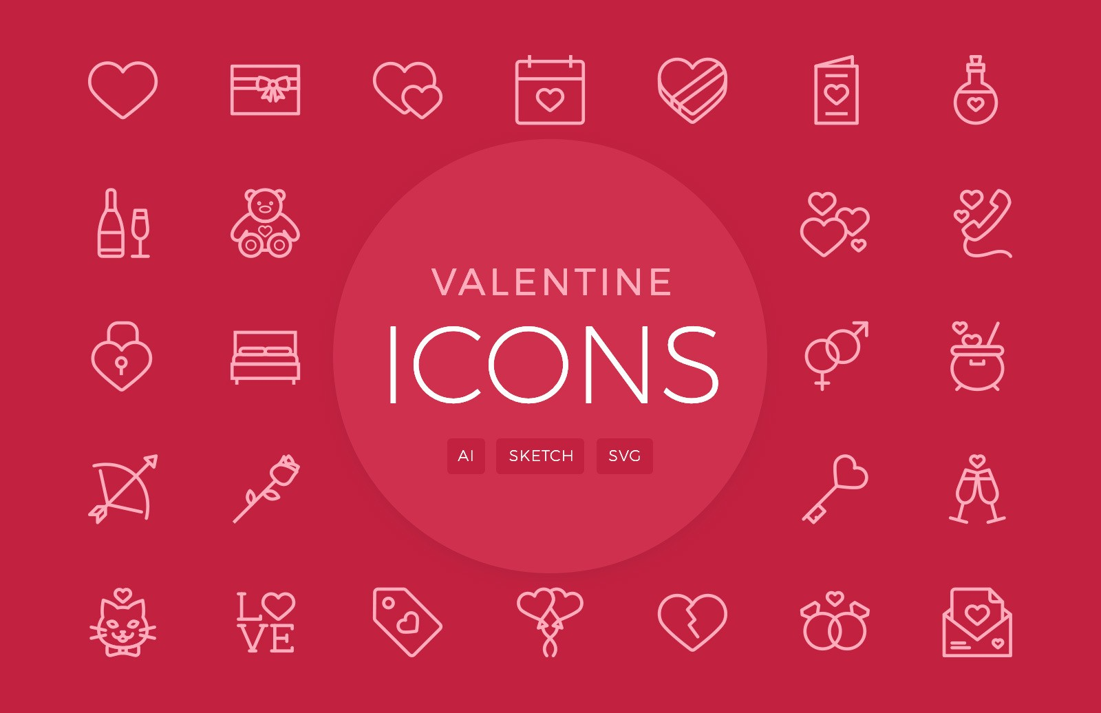 freeuse stock Valentine vector icon. S day icons