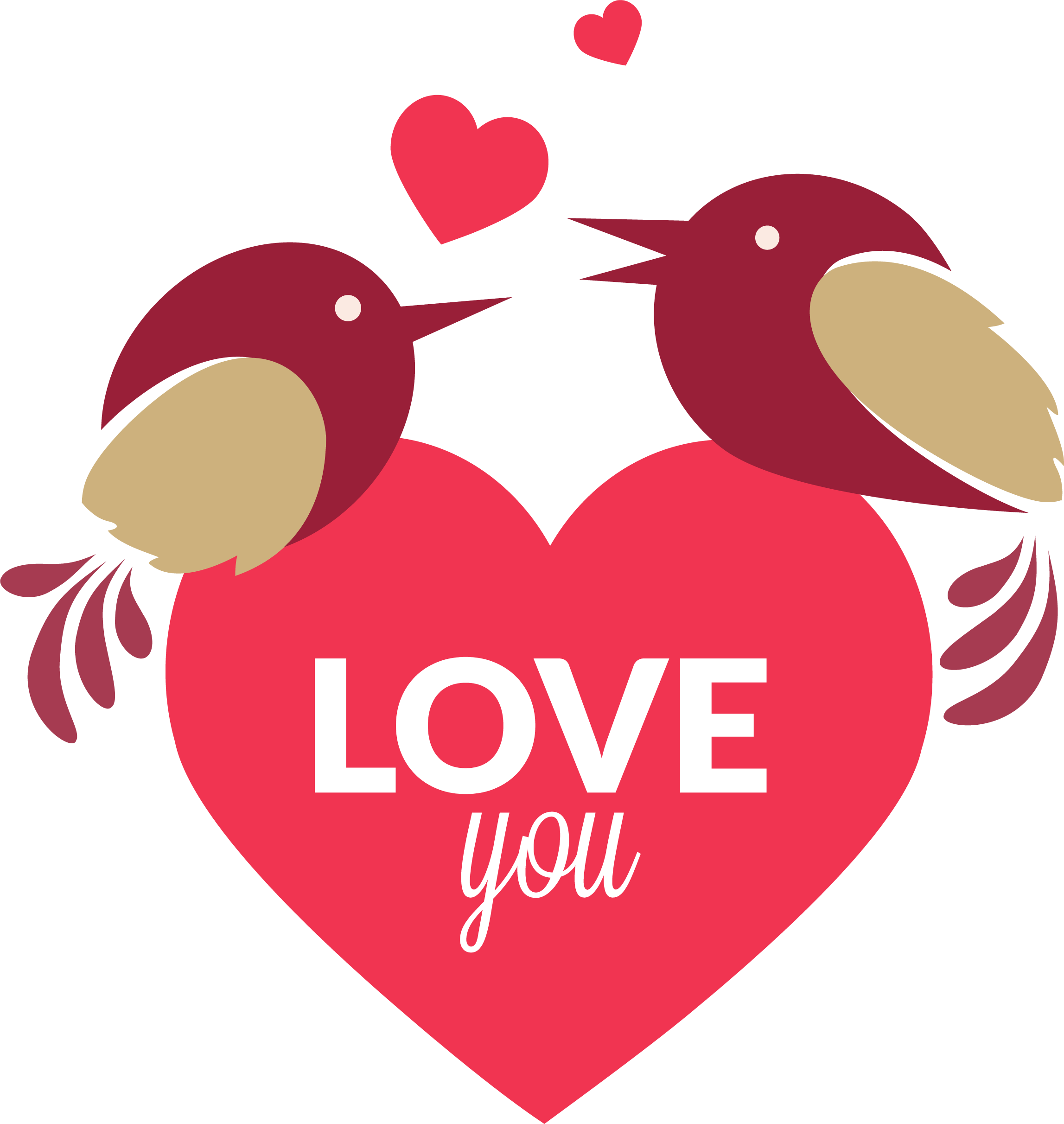 picture freeuse library Android application package software. Valentine vector lovebird