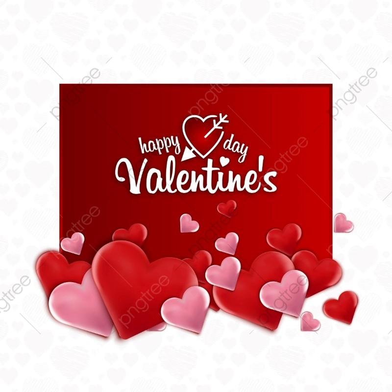 jpg library stock Valentine vector ribbon. Happy valentines day card