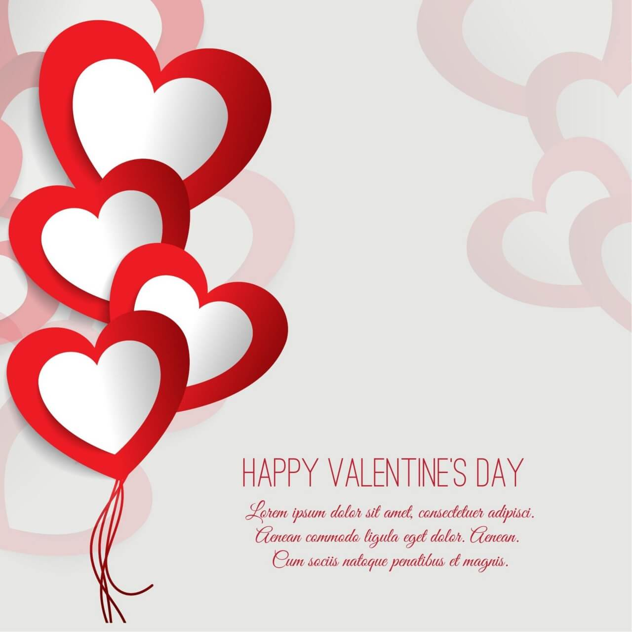 banner Free s illustration with. Valentine vector valentines day