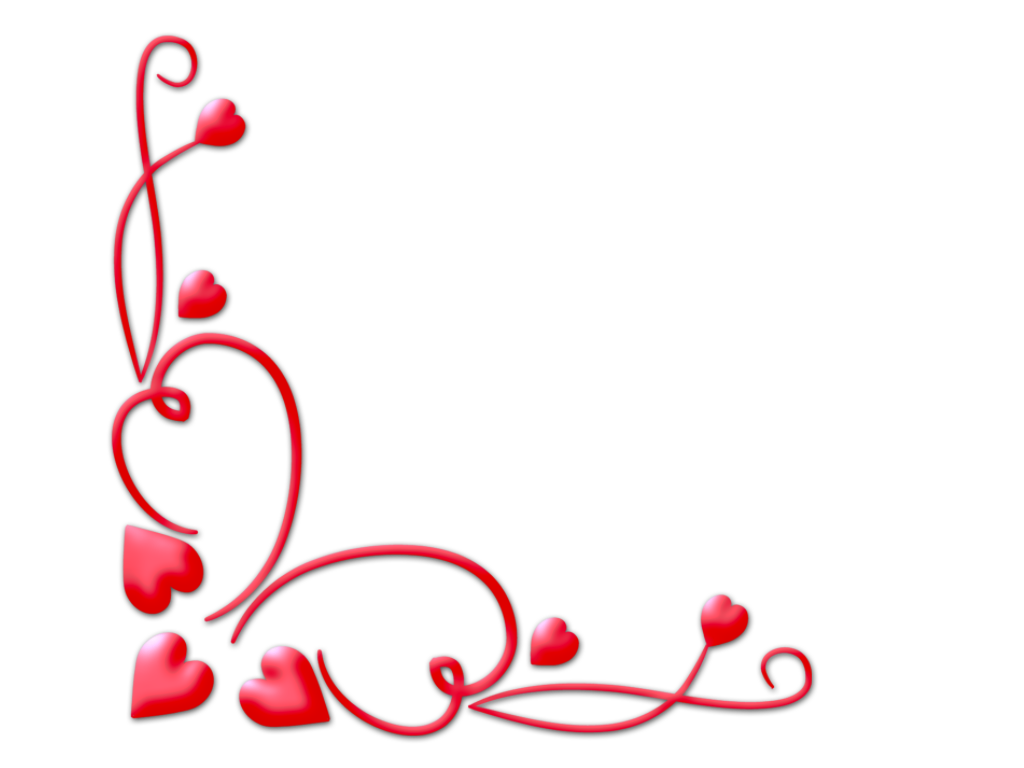clipart free library Love corner valentine png. Valentines border clipart