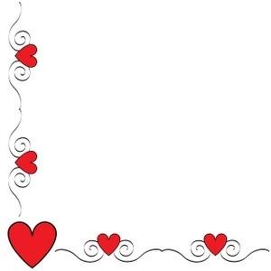 banner free download Free valentine s cliparts. Valentines border clipart