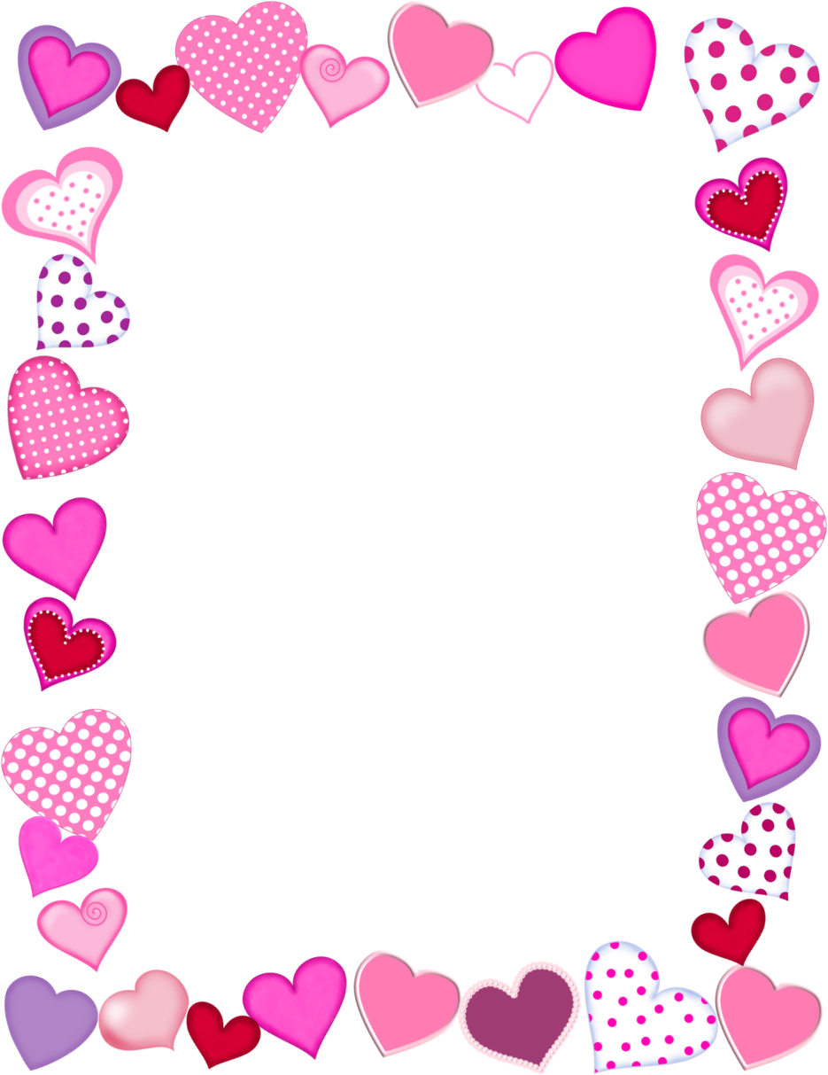 clip library download valentines border clipart #59712896