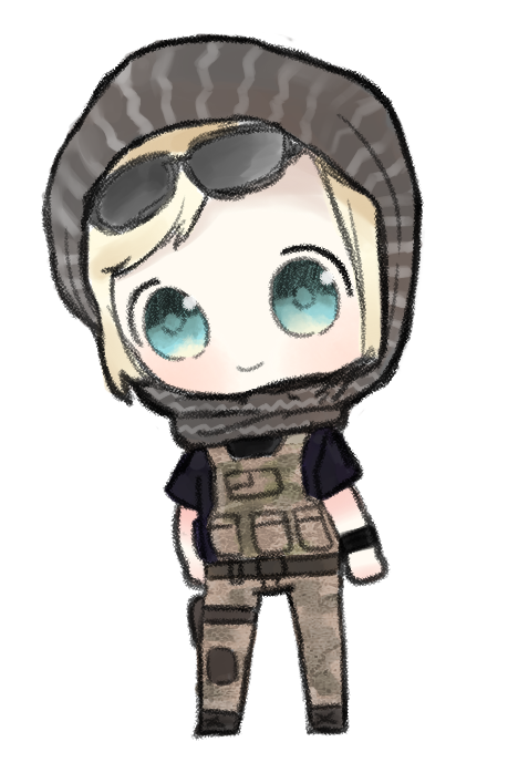 library Valkyrie drawing cute. Rainbow six siege png