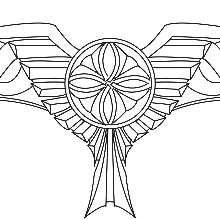 picture library stock Blueprint studios . Valkyrie drawing headdress