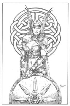 clip free download Valkyrie drawing princess.  best images in