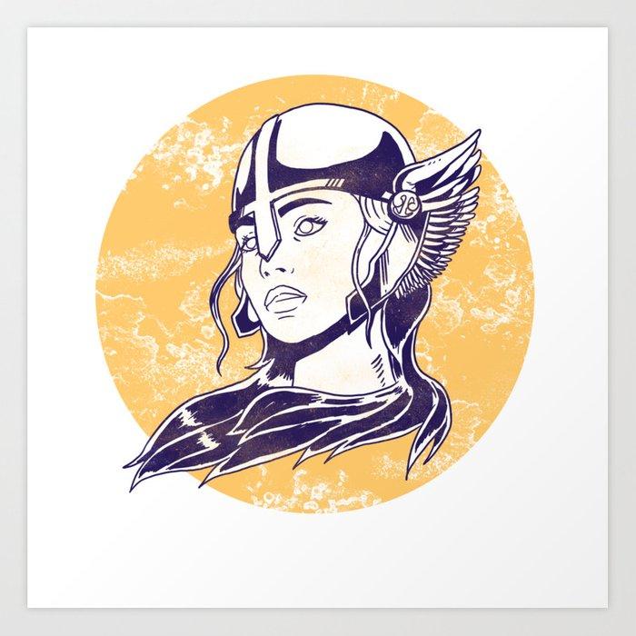 clipart transparent Valkyrie drawing princess. Viking nordic myth valhalla